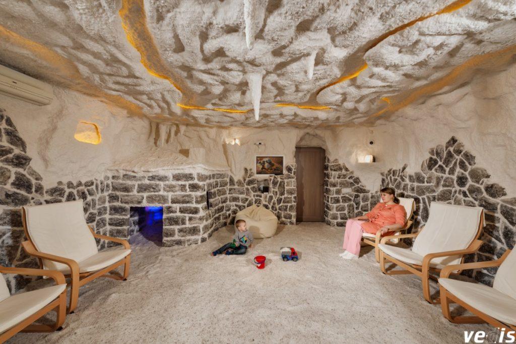 Одна из самых качественных соляных комнат в Киеве